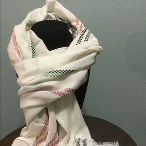 Stripes soft scarf.